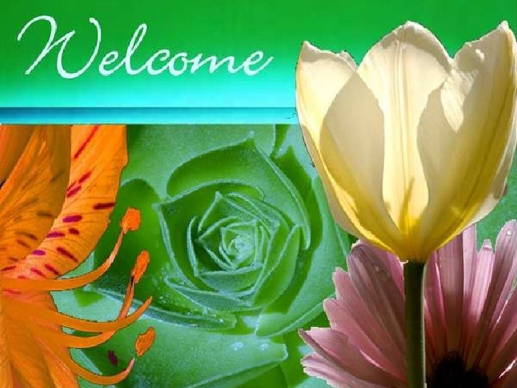 Welcome-Spring, Worship Service slide