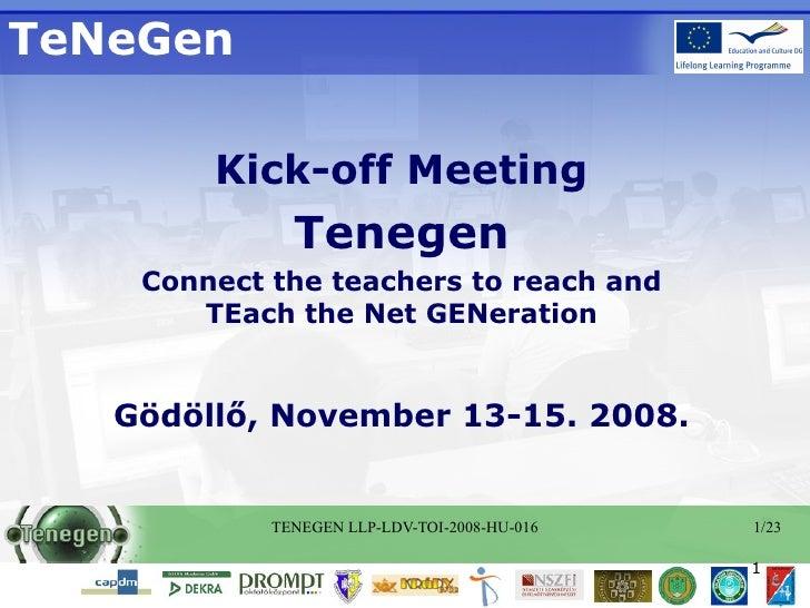 Welcome Tenegen V