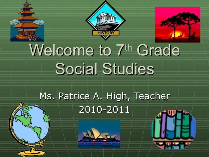 Th Grade Social Studies Classroom Decorations ~ Welcome to th grade social studies