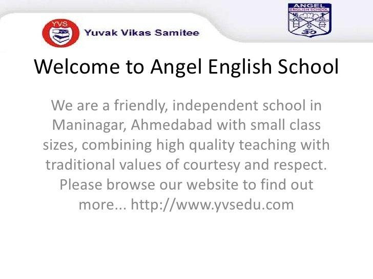 Welcome to Angel English School