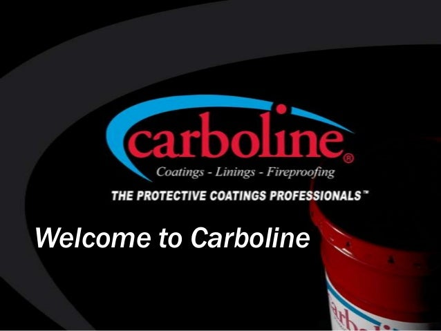 Welcome to Carboline