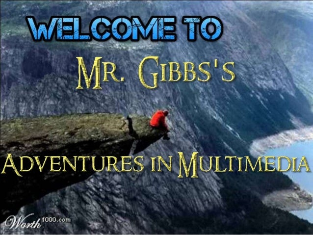 Welcome to Excel Adventures in Multimedia 2014