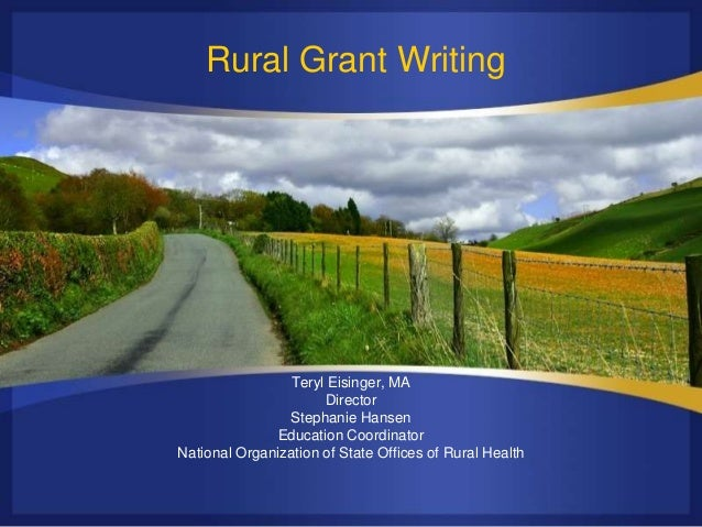 Welcome to Grant Writing Basics