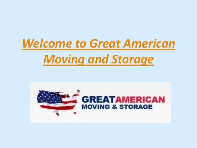 Welcome to Great AmericanMoving and Storage