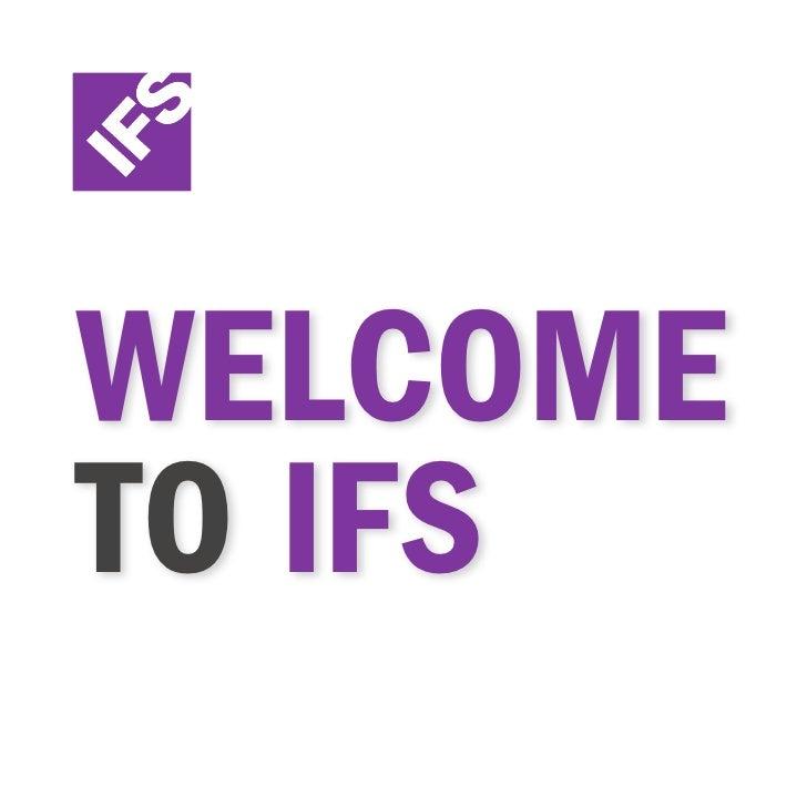 welcometo ifs
