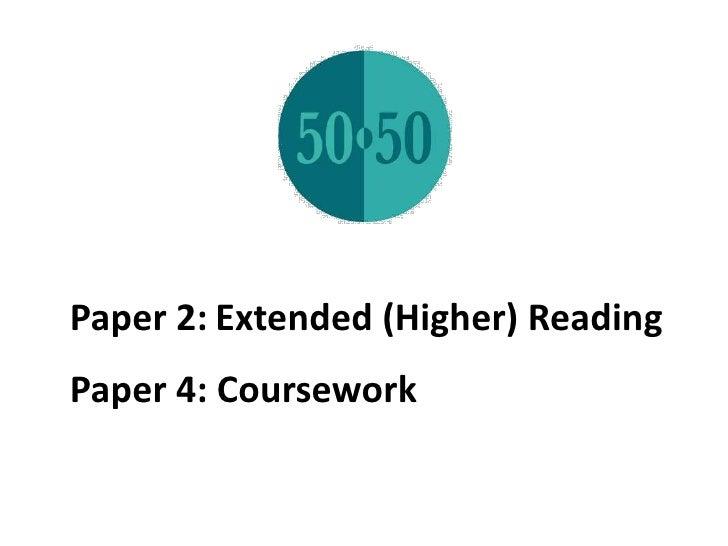 environment coursework essay