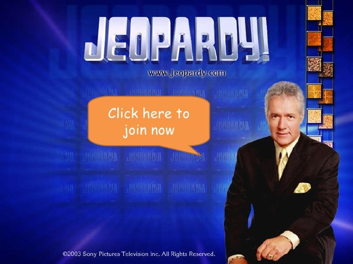 Welcome to _jeopardy