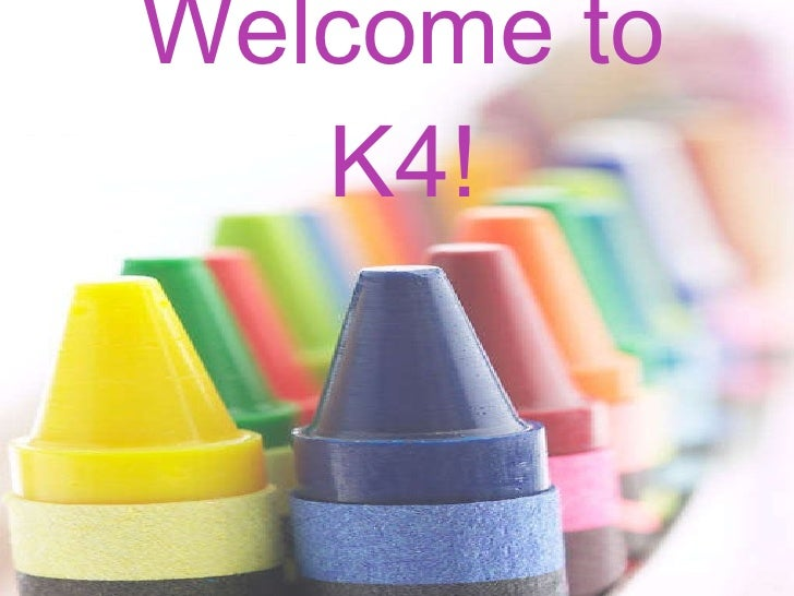 Welcome to k4!