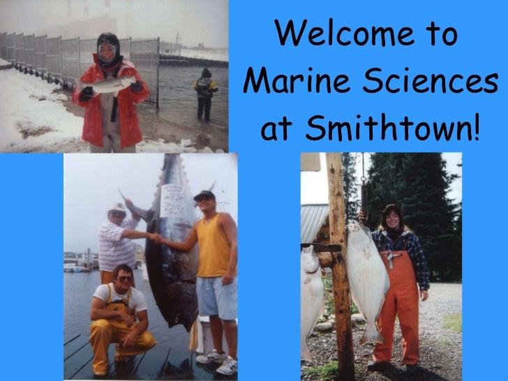 Welcome to marine sciences