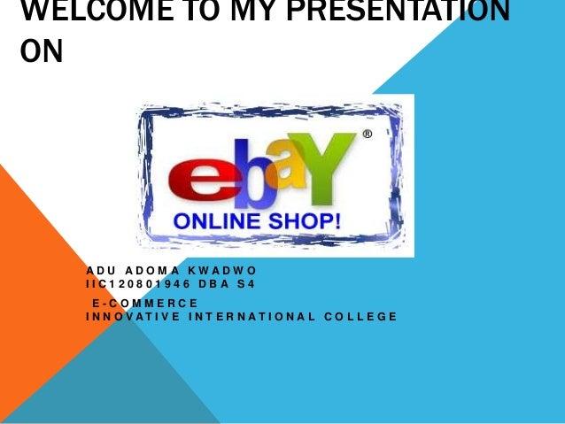PowerPoint Presentation on Ebay ( IIC )