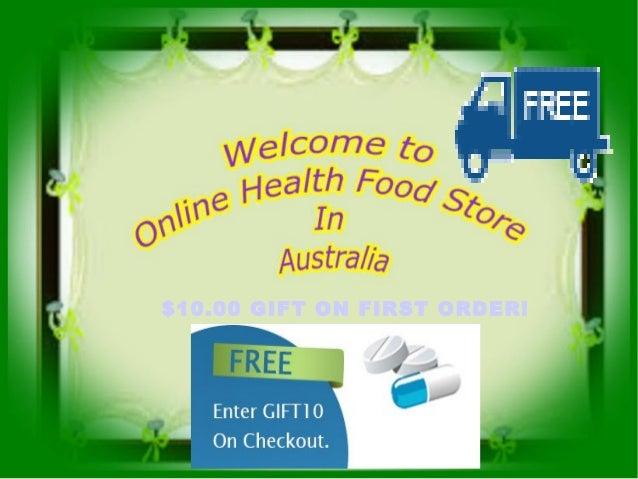 Health store online