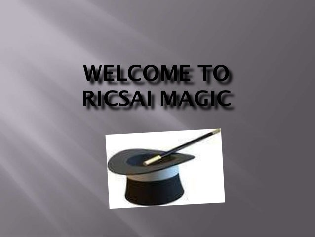 WELCOME TORICSAI MAGIC