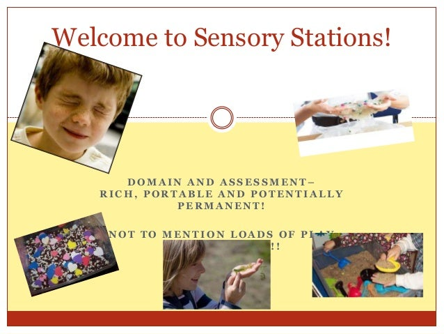 Welcome to Sensory Stations