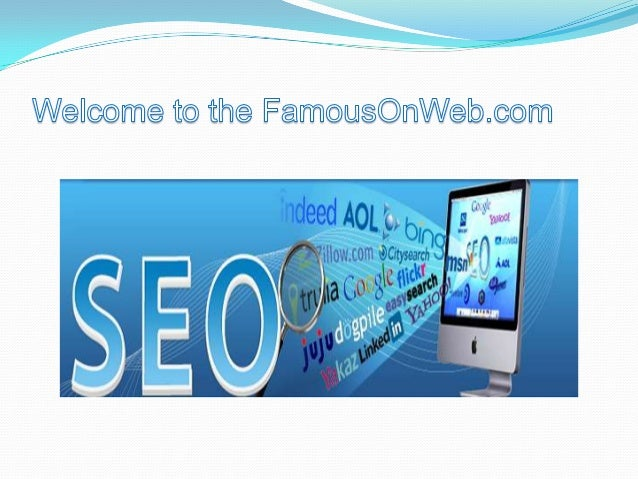  FamousOnWeb is India's most promising company that is specialized in SEO (Search Engine Optimization) and Web designing ...