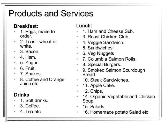 breakfast restaurant business plan