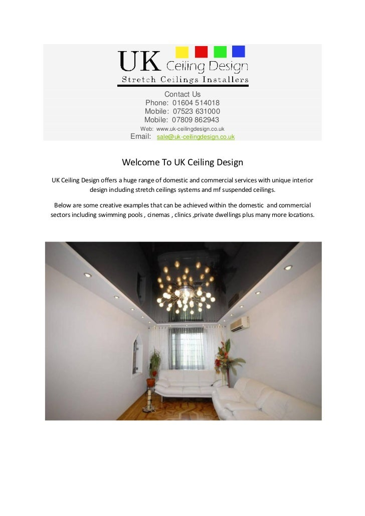 Welcome to uk ceiling design for Uk ceiling design