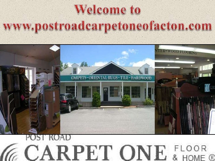 Post Road One has the largest selection of rugs and has been family run forover 30 Carpet years. From modest beginnings, i...