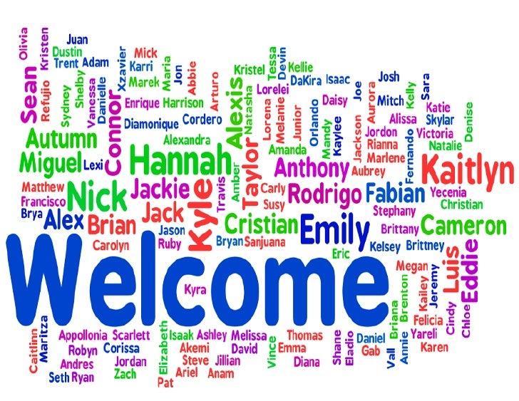 Welcome wordle