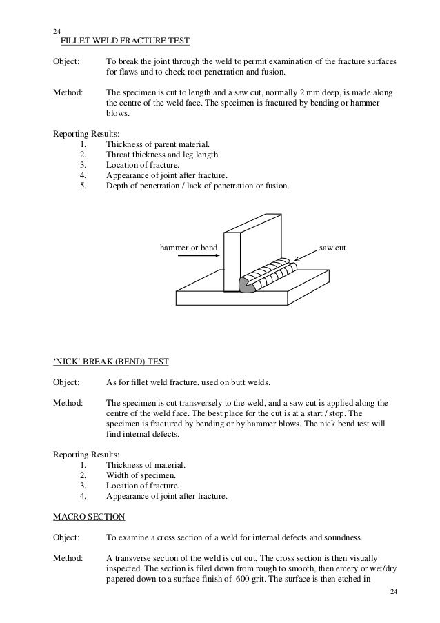 visual inspection welding defects pdf