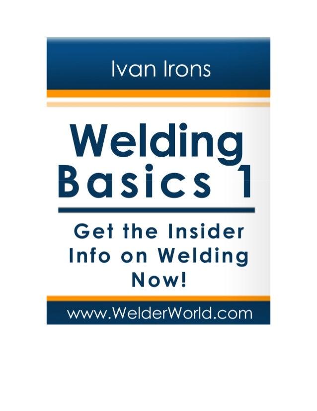 Welding basics1