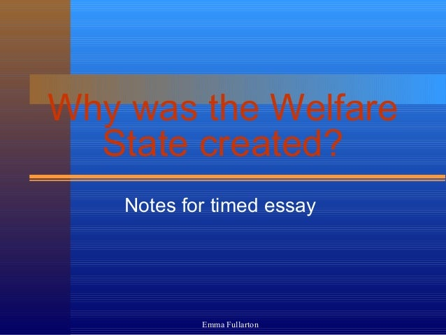 presentation on social welfare essay Social work: a case study in  the a's traumatic relationship has deprived them of the effective communication and joint decisionmaking about the welfare of their .