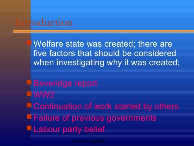 welfare the governments failure essay The welfare effects of a government policy economics essay print in some cases market failure will occur because prices fail to government welfare.