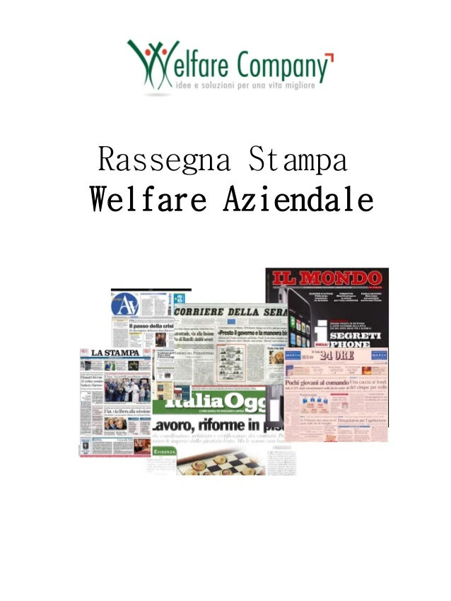 Rassegna Stampa Welfare Aziendale
