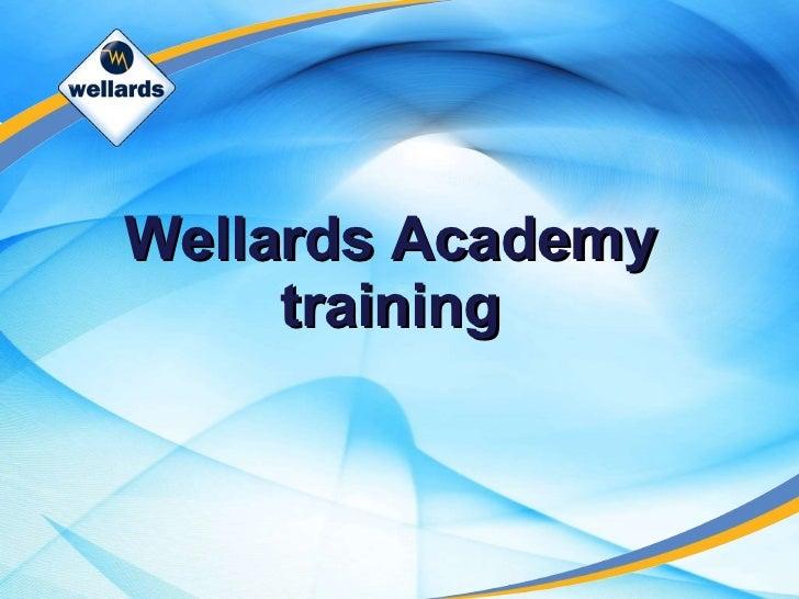 Wellards Academy training