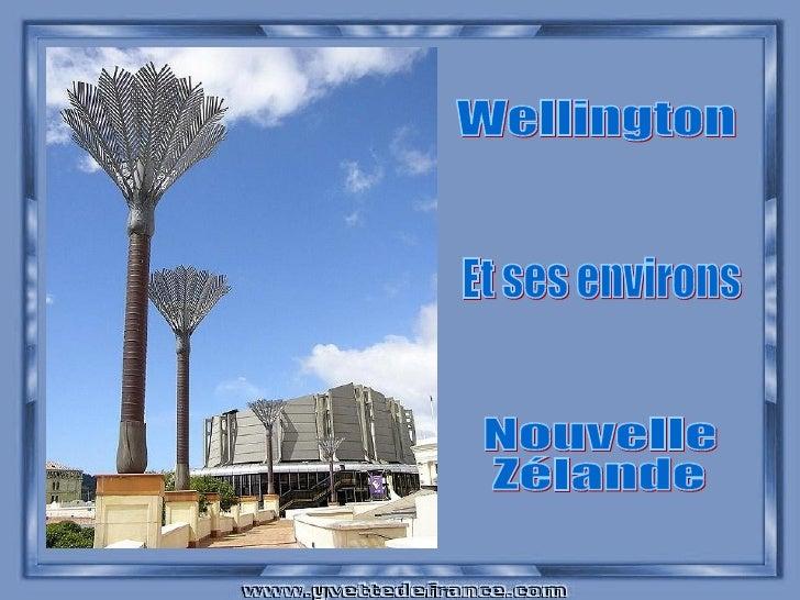 Wellington Et ses environs Nouvelle Zélande