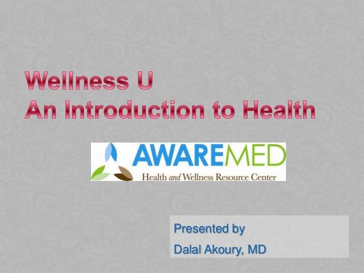 Presented byDalal Akoury, MD