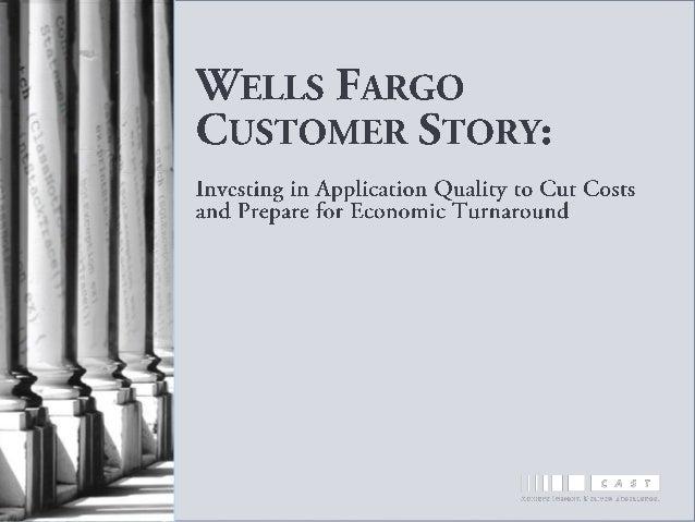 Wells Fargo Customer Story
