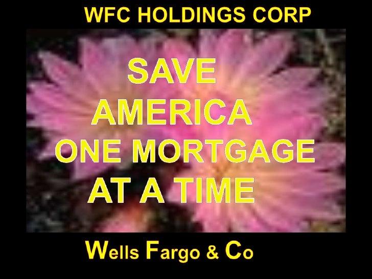 Wells Fargo Conspiracy Draft