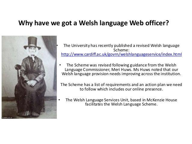 Welsh Language scheme