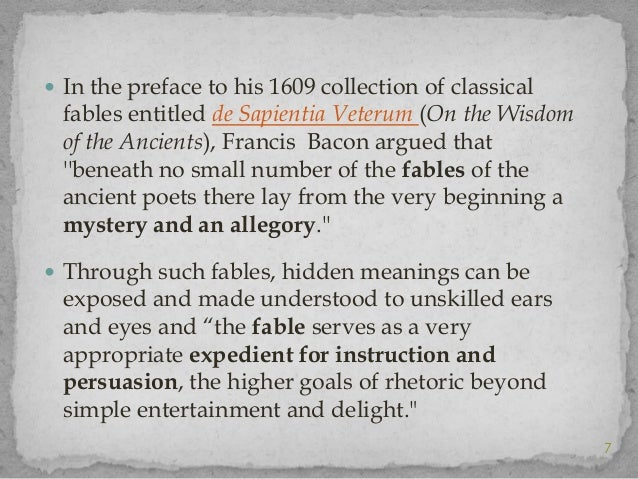 dryden s preface to the fables Jake lowry english 211-0 journal 01 11 12 in dryden s the preface to fables ancient and modern, he draws a comparison between chaucer s work and talent and.
