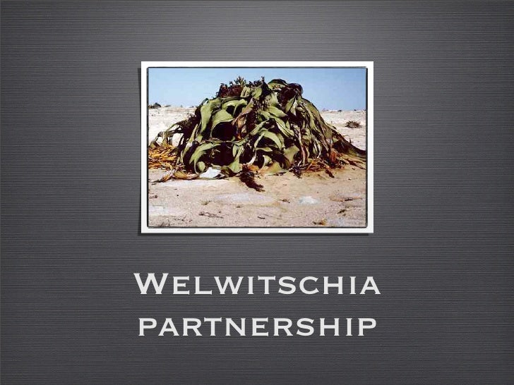 Welwitschia Partnership