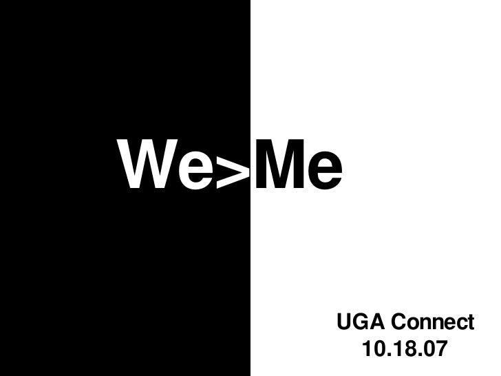 We>Me