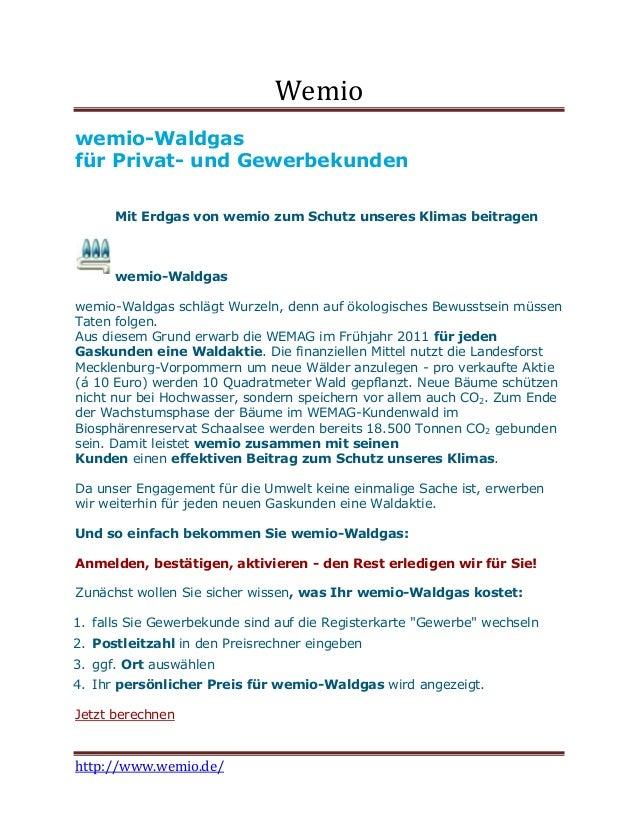Wemiowemio-Waldgasfür Privat- und Gewerbekunden      Mit Erdgas von wemio zum Schutz unseres Klimas beitragen      wemio-W...