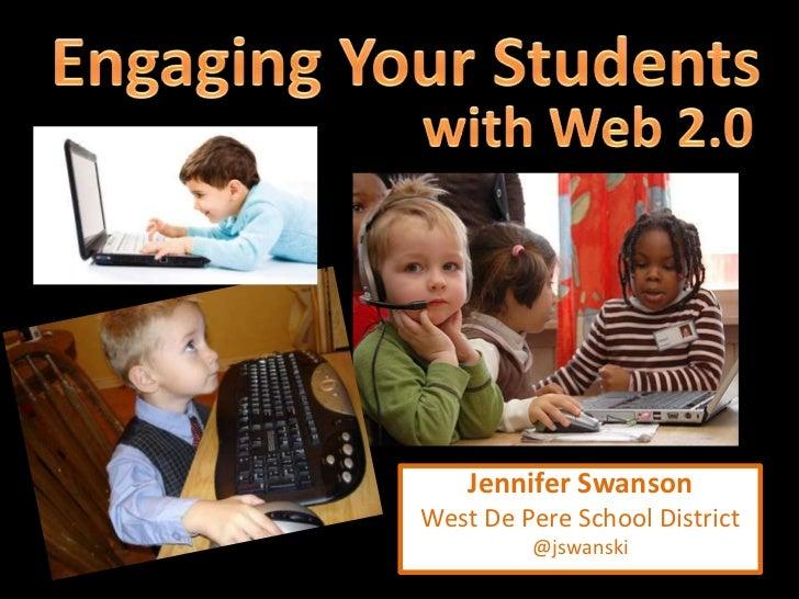 Jennifer SwansonWest De Pere School District         @jswanski