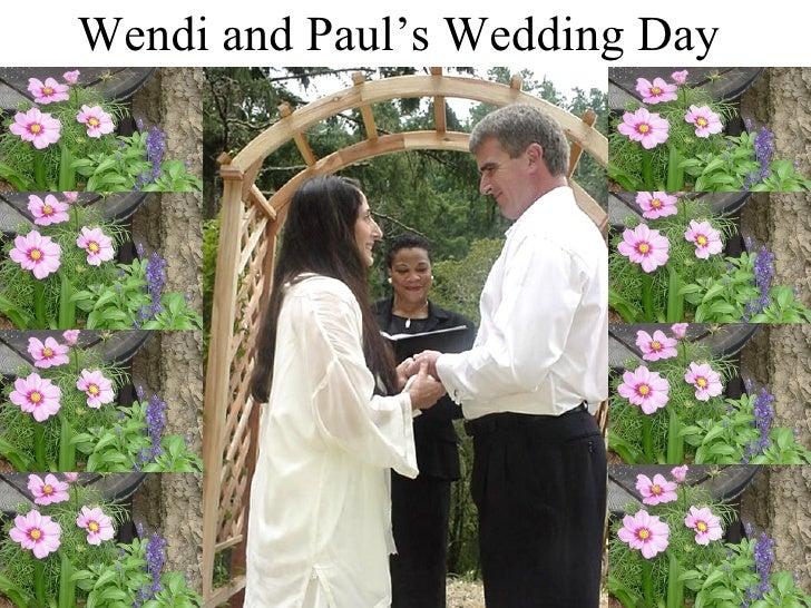Wendi and Paul's Wedding Day