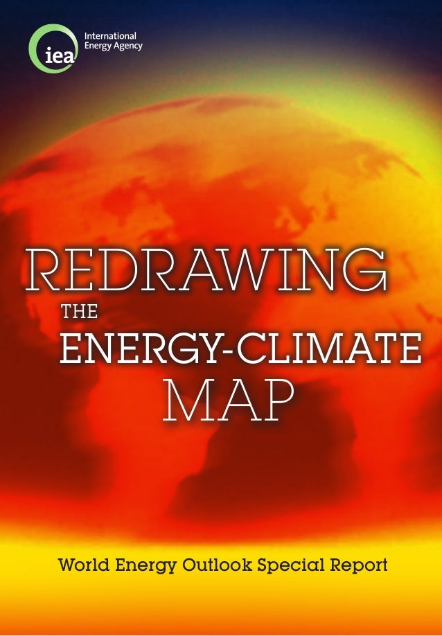 World Energy Outlook Special ReportMAPENERGY-CLIMATETHEREDRAWING
