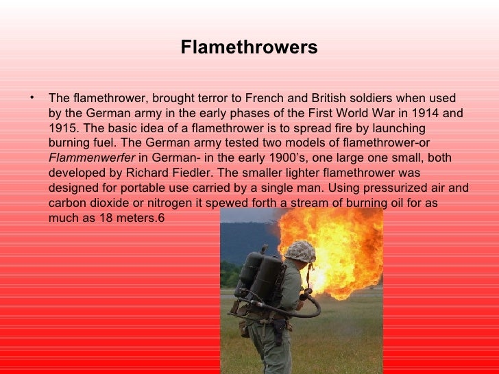pics for gt ww1 flamethrower in color