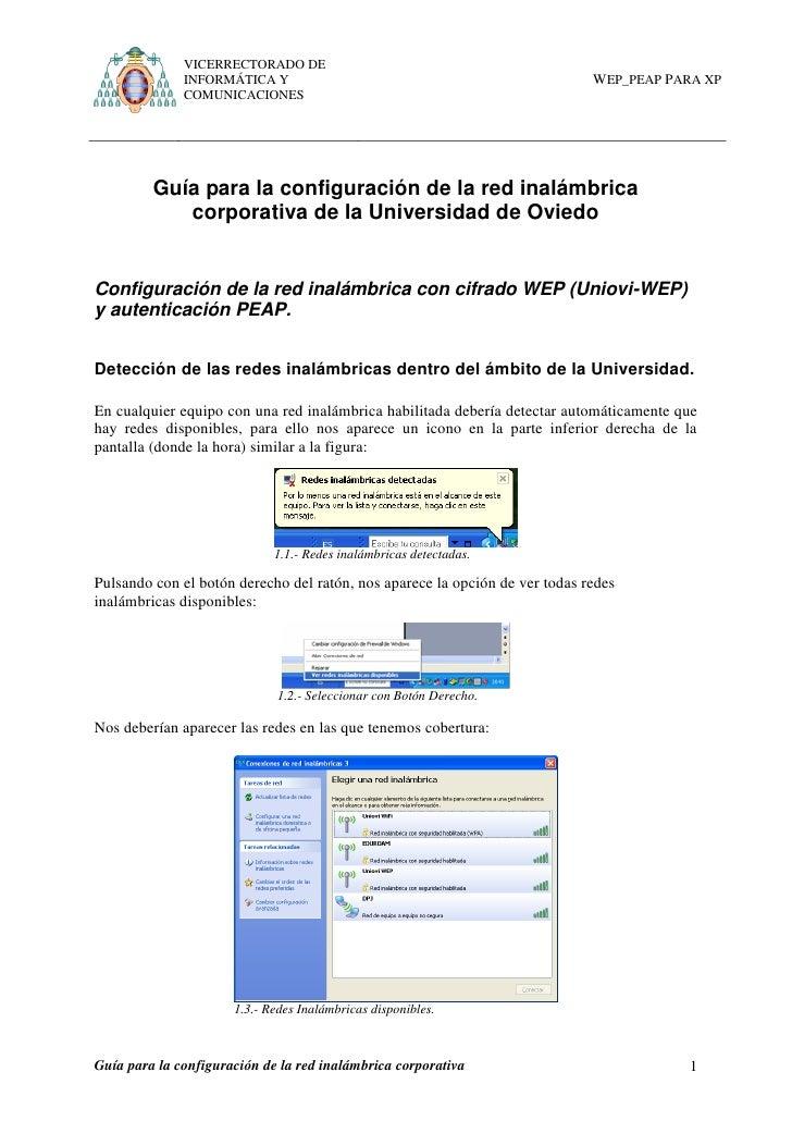 VICERRECTORADO DE              INFORMÁTICA Y                                                  WEP_PEAP PARA XP            ...