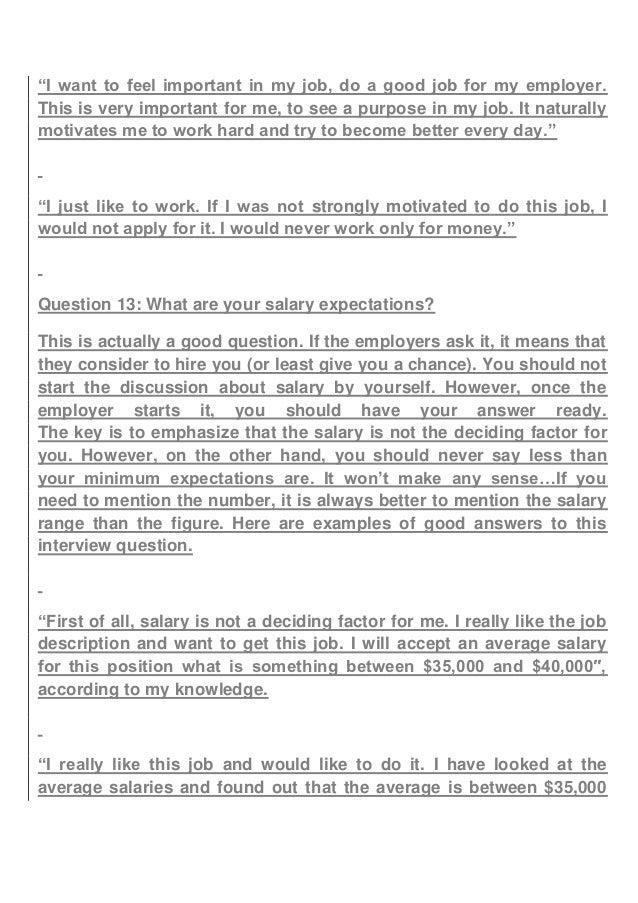 weaknesses job interview list | Template