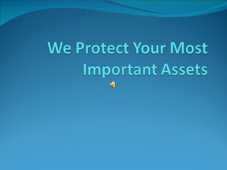 We protect your most important assets   copy - copy - copy - copy