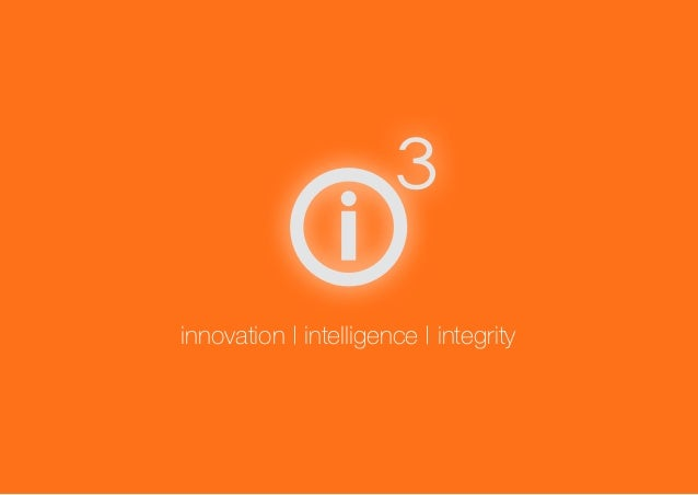 Barcelona innovation | intelligence | integrity
