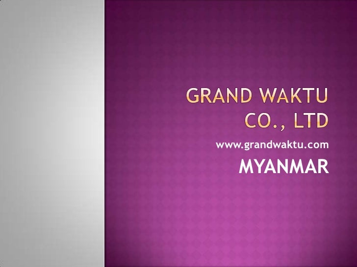 We provide project manager, management for new investments in myanmar