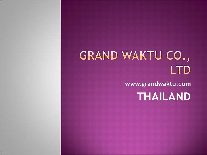 We provide project manager, management for new investments in thailand