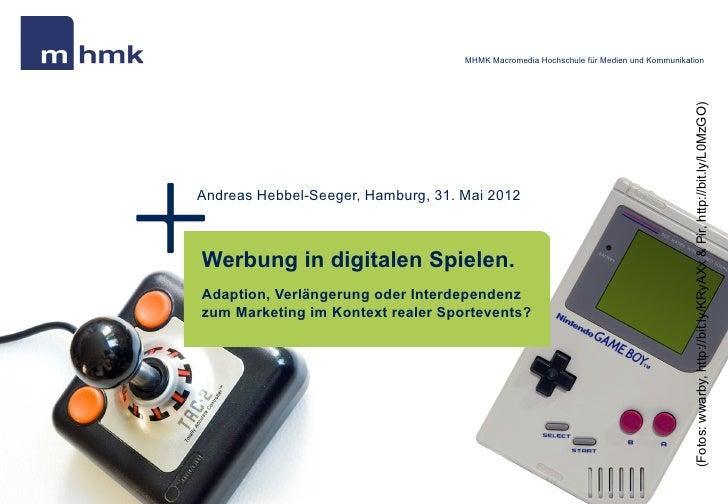 Werbung in digitalen Spielen