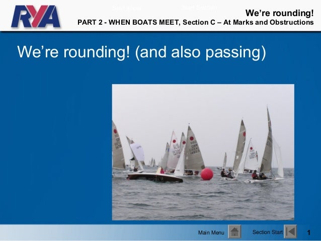Going by the Rules - Rounding Marks and Passing
