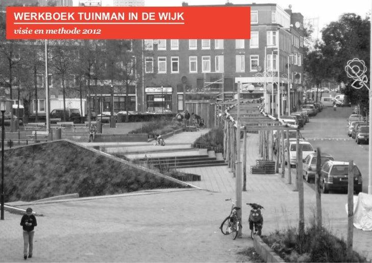 werkboek tuinman in de wijkvisie en methode 2012